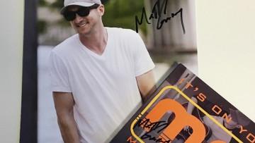 WINNER ANNOUNCED: signed CD & photo from Matt Gary