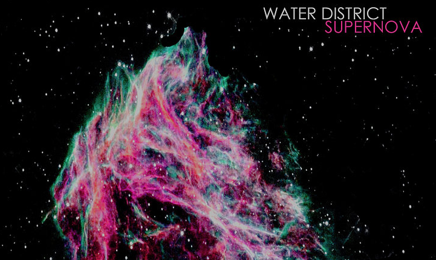"LA based indie-rock band Water District premiere ""Supernova"""