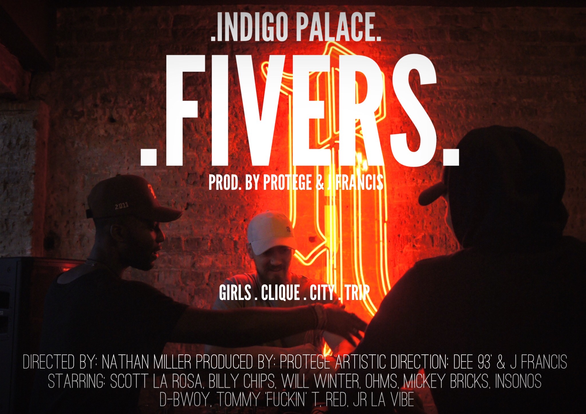"London: Indigo Palace – ""FIVERS/GOLD"""